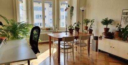 Zürich Kreis 4: schöne Altbauwohnung am Albisriederplatz zur Untermiete