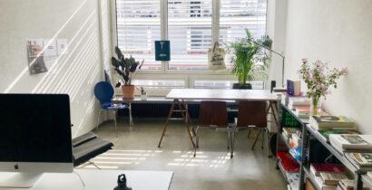 Eigenes Atelierzimmer in Gemeinschaft