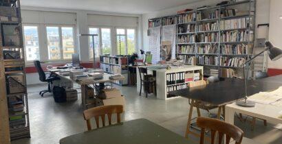 Heller Atelier-, bzw. Büroplatz beim Bahnhof Wiedikon mit schöner Aussicht