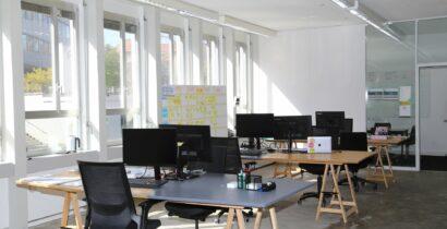 Arbeitsplätze für eine Person oder Teams in Co-Working in Zürich-Binz