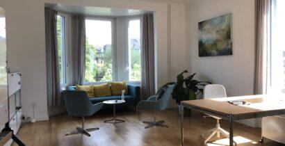Wunderschöne Räume in Jugendstilhaus zu vermieten am Züriberg